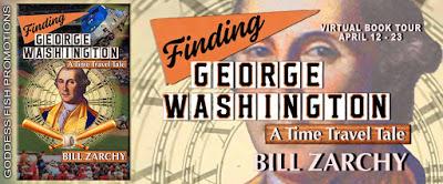 Goddess Fish tour banner for Finding George Washington