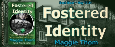 Goddess Fish tour banner for Fostered Identity