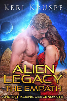 cover of Alien Legacy the Empath by Keri Kruspe