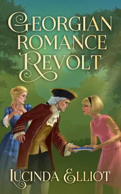Cover of Georgian Romance Revolt by Lucinda Elliot