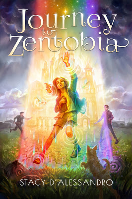 book cover of Journey to Zentobia by Stacy D'Alessandro