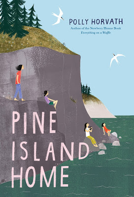 cover of Pine Island Home by Polly Horvath