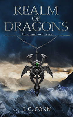 cover of Realm of Dragons by L.C. Conn