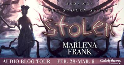 Audiobookworm tour banner for Stolen