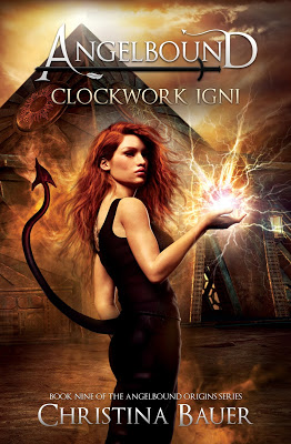 cover of Clockwork Igni by Christina Bauer