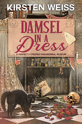 cover of Damsel in a Dress by Kirsten Weiss