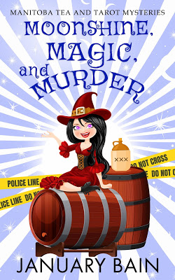 cover of Moonshine, Magic, and Murder by January Bain