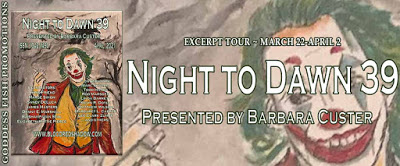 Goddess Fish tour banner for Night to Dawn 39