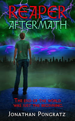 cover of Reaper Aftermath by Jonathan Pongratz