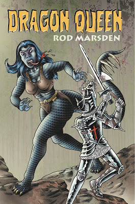 cover of Dragon Queen by Rod Marsden