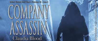 Goddess Fish tour banner for Company Assassin
