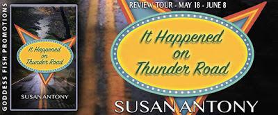 Goddess Fish tour banner for It Happened on Thunder Road
