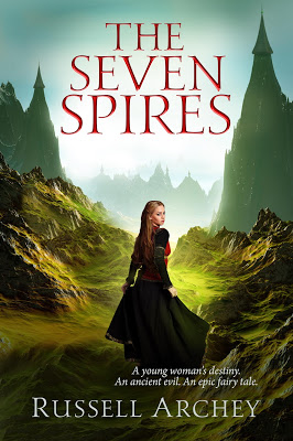 book cover of The Seven Spires by Russell Archey