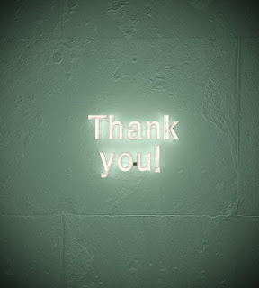 text that reads Thank you!