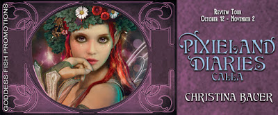 Goddess Fish tour banner for Calla