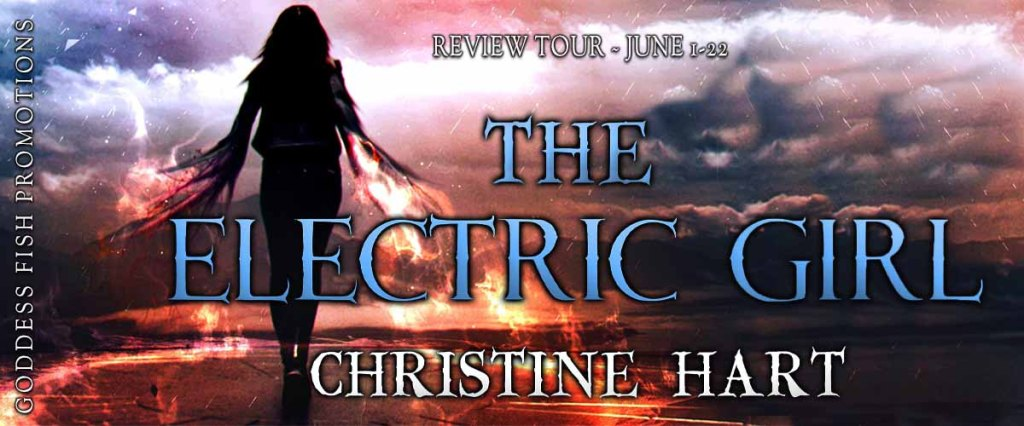 Goddess Fish tour banner for The Electric Girl